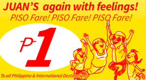 Cebu Pacific Piso Fare Promo
