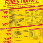 Cebu Pacific Promo Fare: April, May and June 2014