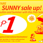 Cebu Pacific Air PISO FARE Promo 2014
