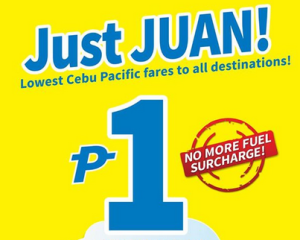 Cebu Pacific Piso Fare 2015 Promo