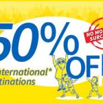 Cebu Pacific Promo Fare 2015 at 50% Discount