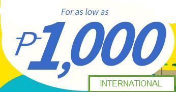 1000 International Ticket Promo