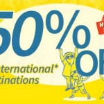 Cebu Pacific International Promo 2015: 50% Discount Base Fare
