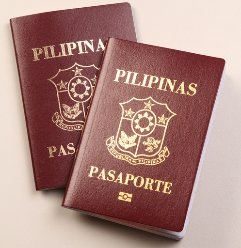 The New E passport with the Micro Chip Design on the Front