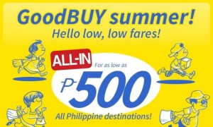 Cebu Pacific Piso Fare 2015