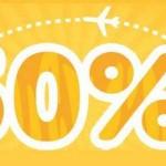 TIGER AIR 50% OFF Promo Fare 2015 to 2016