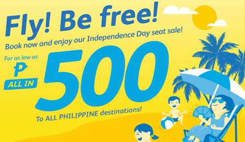Cebu Pacific Promo 2015 to 2016 500 ALL IN PROMO FARE