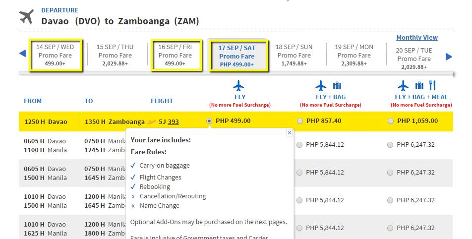 Davao_to_Zamboanga_Promo_Fare