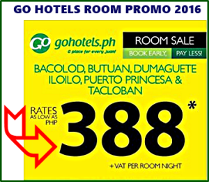 Go Hotel Offers Affordable Hotel Rooms at P388 Per Night Stay