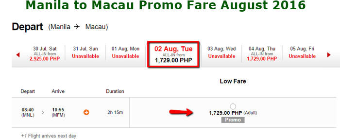 Manila_to_Macau_1799_Promo_Fare August 2016