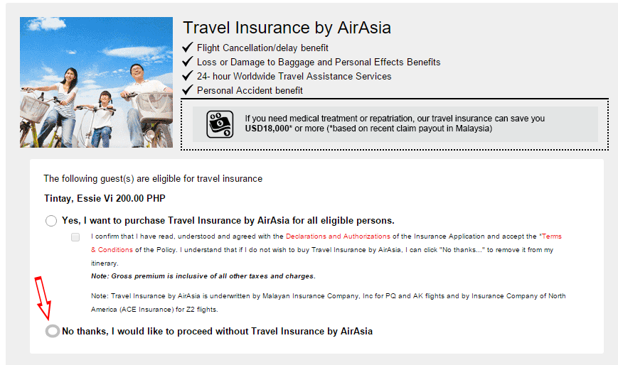 Air_Asia Travel Insurance