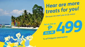 Cebu Pacific P499 Promo Domestic Destinations and International Travel Deals 2016-2017