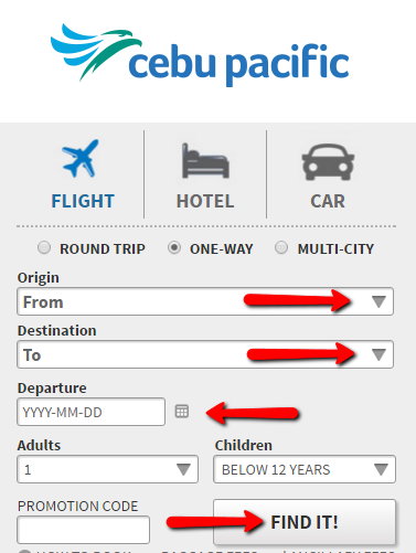 Cebu_Paciific_Online_Booking_Guide_Step_1