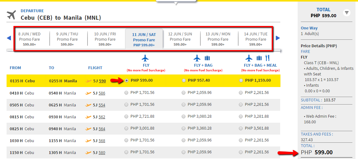 Cebu_to_Manila_599_Promo_Fare