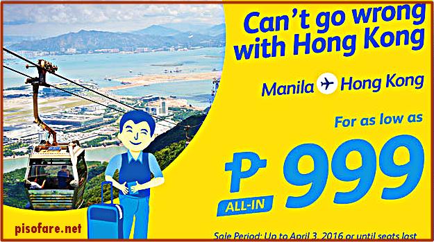 Manila_to_Hongkong_Promo Fare