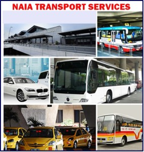 NAIA Manila Airport Available Transport Services