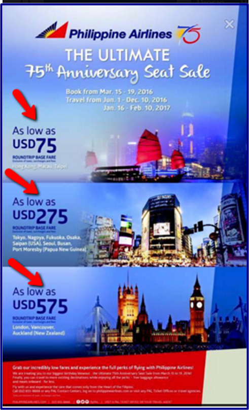 Philippine_Airlines International_Promo_Fare_