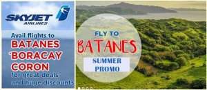 Go for Amazing Vacation with Skyjet Boracay, Batanes and Coron Summer Travel Promo 2016