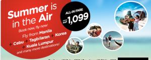 Air Asia Promo Fare April-November 2016