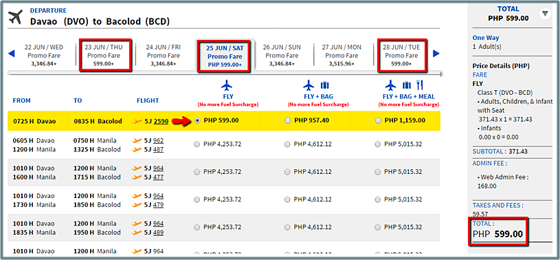 Davao_to_Bacolod_Promo Fare 2016