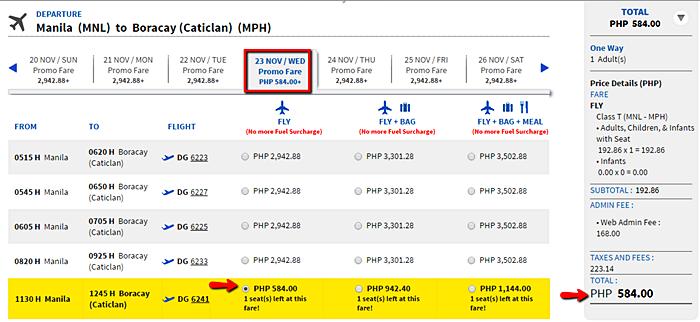 Manila_to_Boracay Promo flight