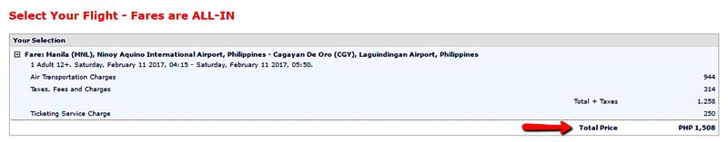 Manila_to_Cagayan_De_Oro Seat Sale