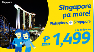 Cebu Pacific International Promo Tickets: August-December 2016