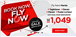 Promo Seats by Air Asia Zest May to November 2016