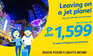 Cebu Pacific Air Seat Sale June-September 2016