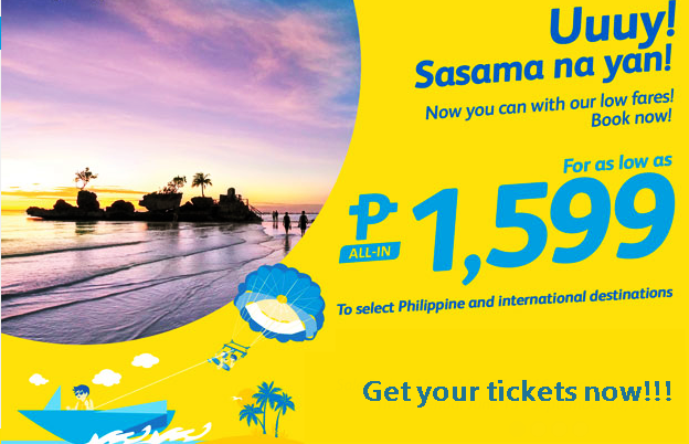 Cebu Pacific Promo Seats June-September 2016