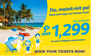 Cebu Pacific Air Promo Tickets June-September 2016 On Sale