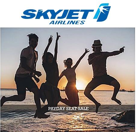 Skyjet Seat Sale 2016