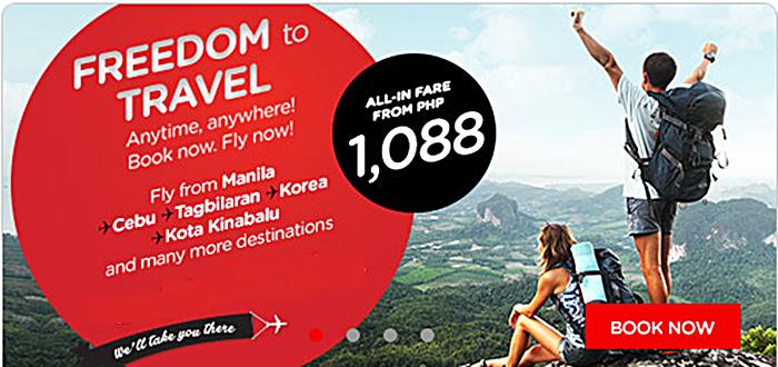 Air Asia Promo Seats 2016