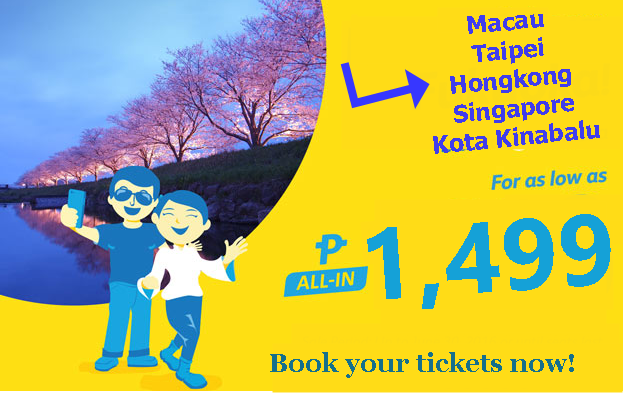 Cebu Pacific International Promo