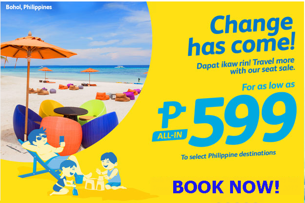 Cebu Pacific Piso Fare 2016- 2017