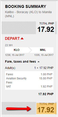 Kalibo_to_Manila_Piso_Fare_2017