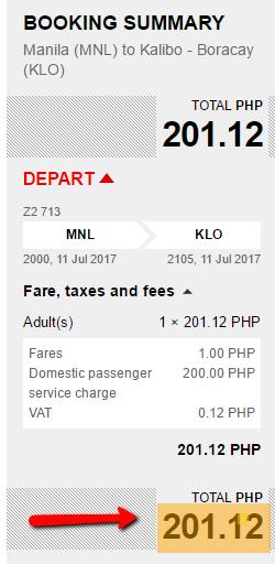 Manila_to_Kalibo_Piso_Fare