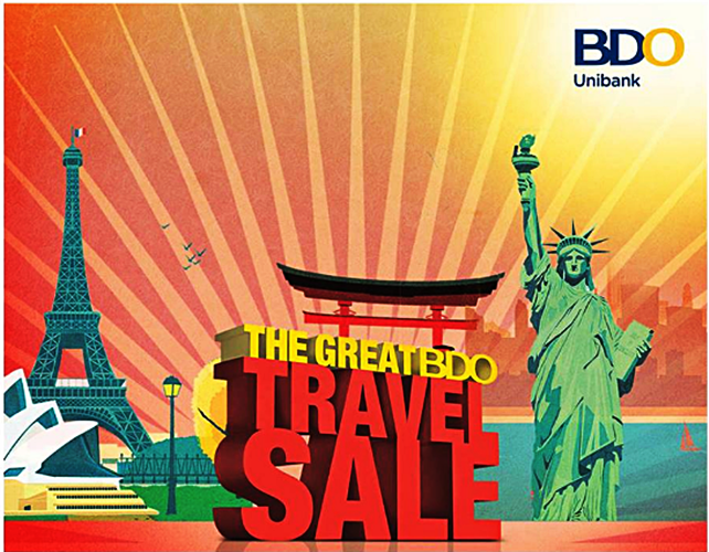 The BDO Great Travel Sale