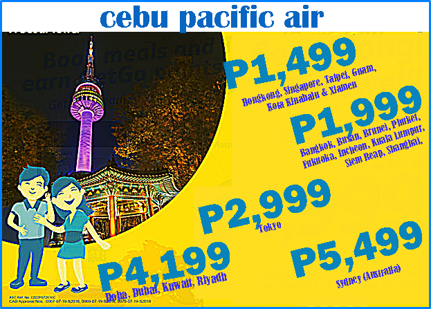 Cebu Pacific International Promo Fare