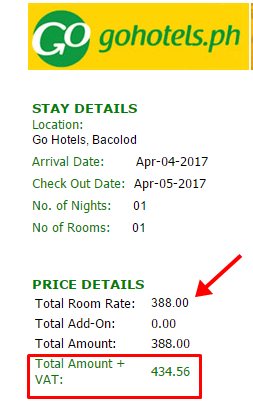 Go Hotel As Low P388 Per Night Stay Rooms Promo Piso