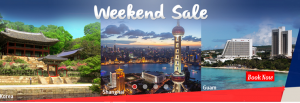 2016 Philippine Airlines Seat Sale to Guam, Shanghai, Beijing, Seoul