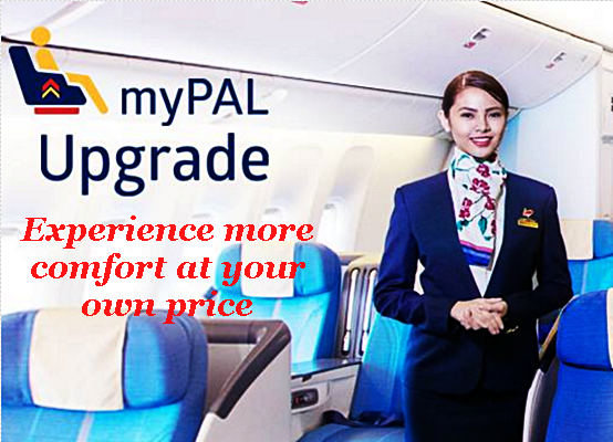Philippine Airlines myPAL UPGRADE