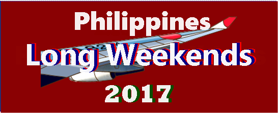 2017 Long Weekends of the Philippines