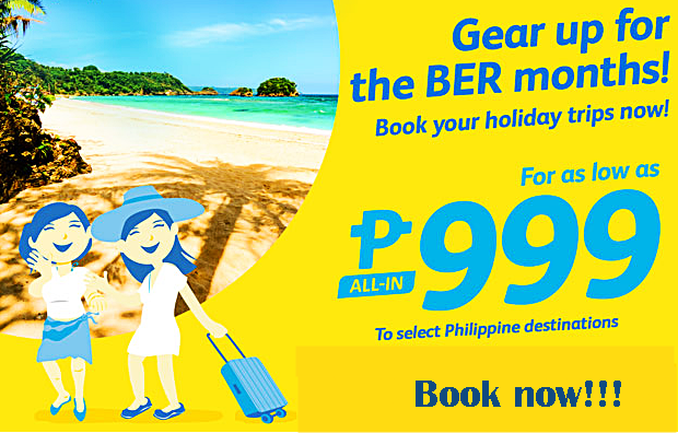 Cebu Pacific Air Seat Sale 2016