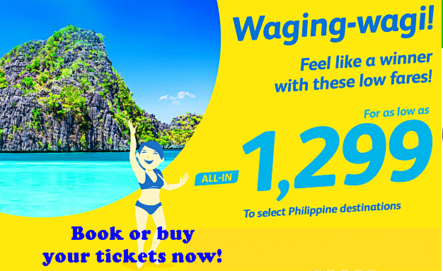 Cebu Pacific Seat Sale September to December 2016