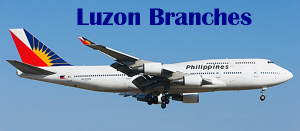 Philippine Airlines LUZON Ticketing Offices for PAL and PAL Express Booking