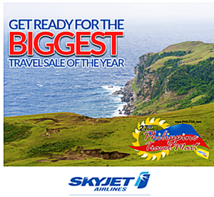 Skyjet as low as P427+ Seat Sale BORACAY, BATANES, and CORON