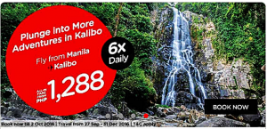 Air Asia as Low as P945 Promo September-December 2016