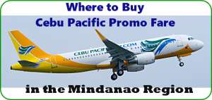 Cebu Pacific Promo Fare: Where to Buy in Mindanao Region