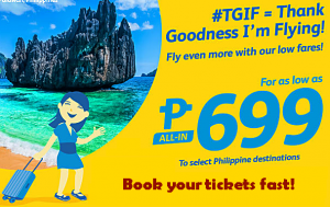 Cebu Pacific Air Promo Fare 2017